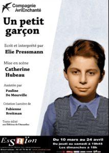 Un petit garçon : Affiche