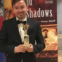"""Yann VERBURGH Prix interprétation """"Ombres et Lumières"""""""