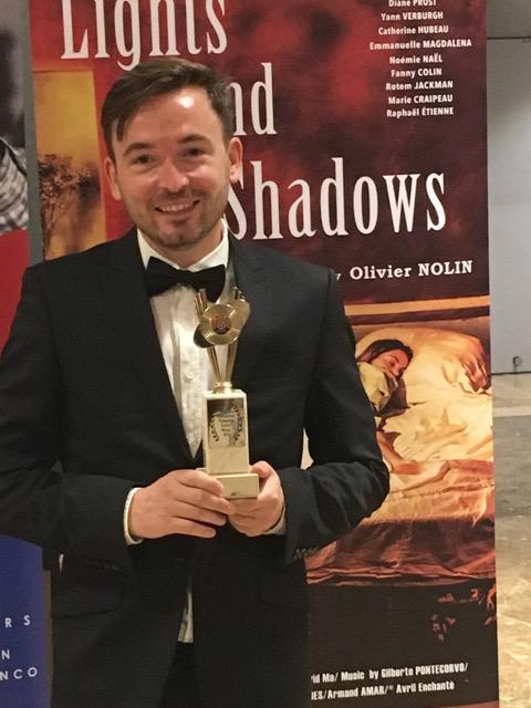 Prix d'interprétation pour le film « Ombres et Lumières » d'Olivier Nolin 28 juillet 2018